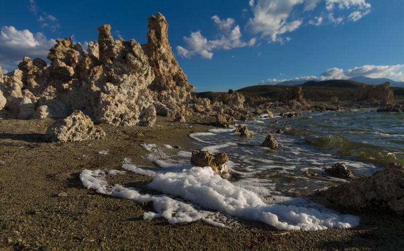 mono lake,. tufas, california, nature, landscape, water, rock, geology,