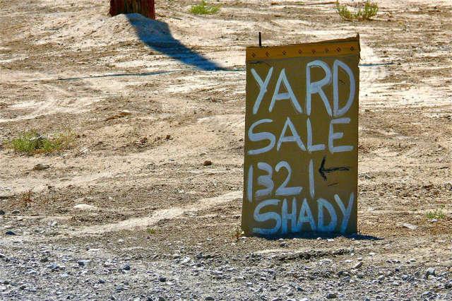 Yard Sale