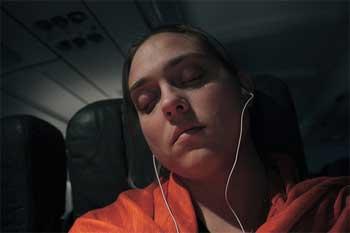 sleepingonplane