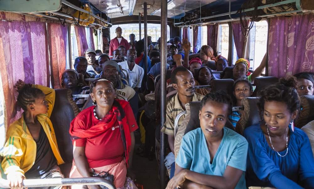 africa bus