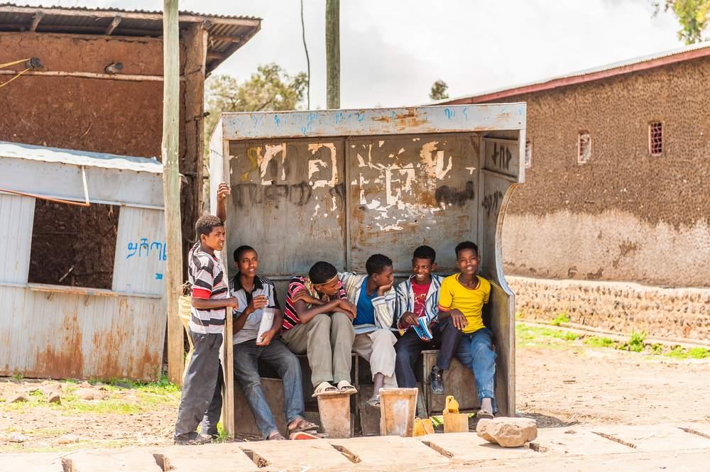 africa street kids