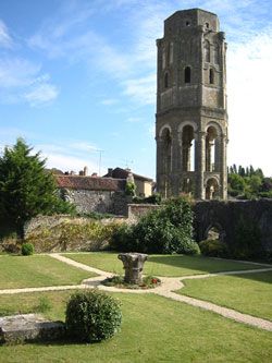 Charroux---Charlemagne's-tower