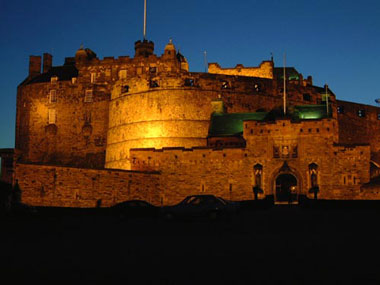 One of the most haunted castles-in the most haunted city-in Europe