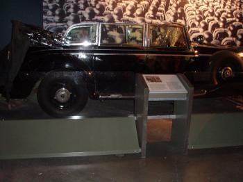 Hitler's Mercedes-Benz inside the Canadian War Museum