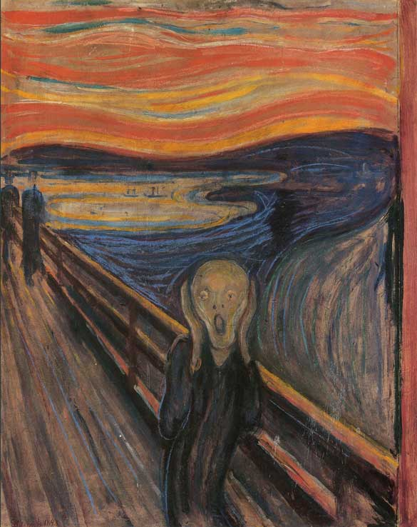 "This painting has also been referred to as ""The Cry"""