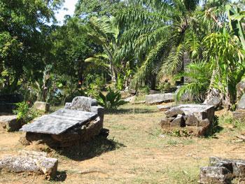 Pirate's graveyard in Madagascar