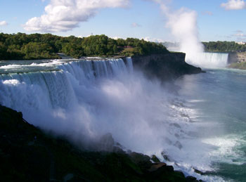 """""""Niagara"""" is an Indian name meaning """"Thunder of Waters"""""""