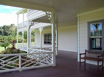 Robert Louis Stevenon's house in Samoa