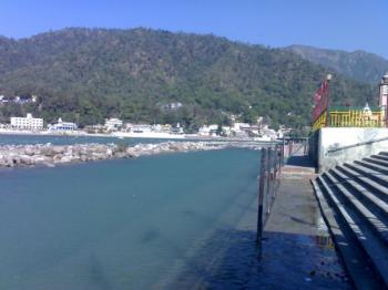 River Ganga by the Side