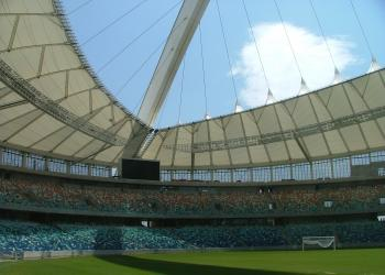 Moses Mobhida Stadium is one of five brand-new facilities to host proceedings in 2010.