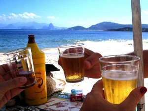 Icy Brazilian beer