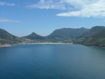 View like these are commonplace around Cape Town, one of the nine host cities in the 2010 World Cup.