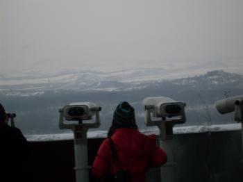 Cold mountains of N. Korea