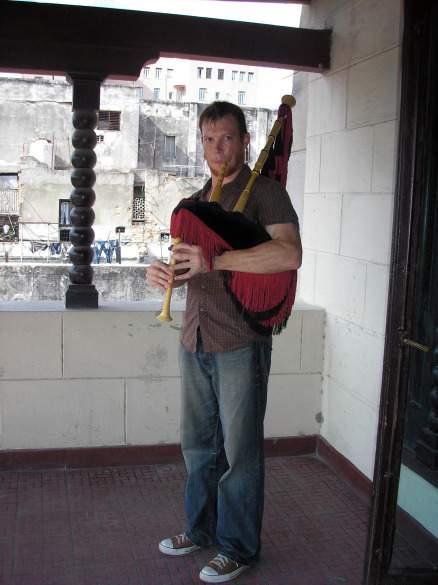 Rolf in Cuba