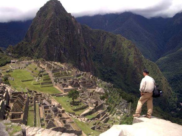Rolf at Machu Picchu