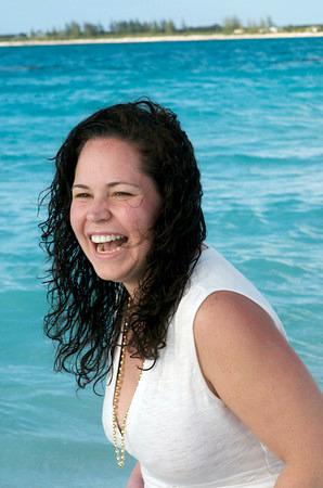 At play in the Bahamas