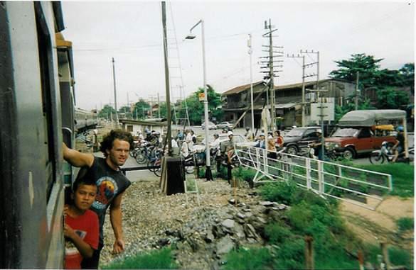 Riding the rails in Bangkok
