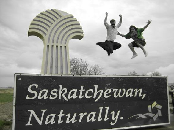 Visiting rural Canada