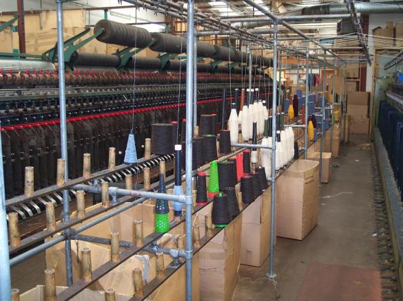 Crafts and Culture: A Factory Tour of Jamieson's Mill
