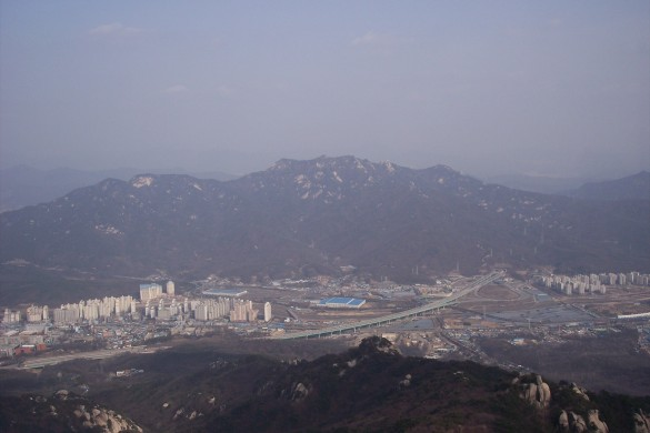 Seoul from up top....