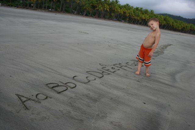 ABC's on the Beach