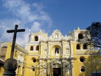 Iglesia La Merced. La Antigua, Guatemala.