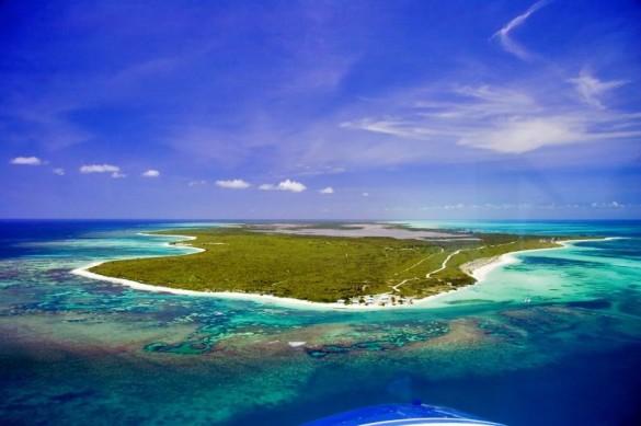 The flat atoll - Anegda Island