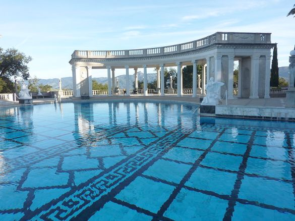 Hearst Castle Outdoor Pool reszd on picnik