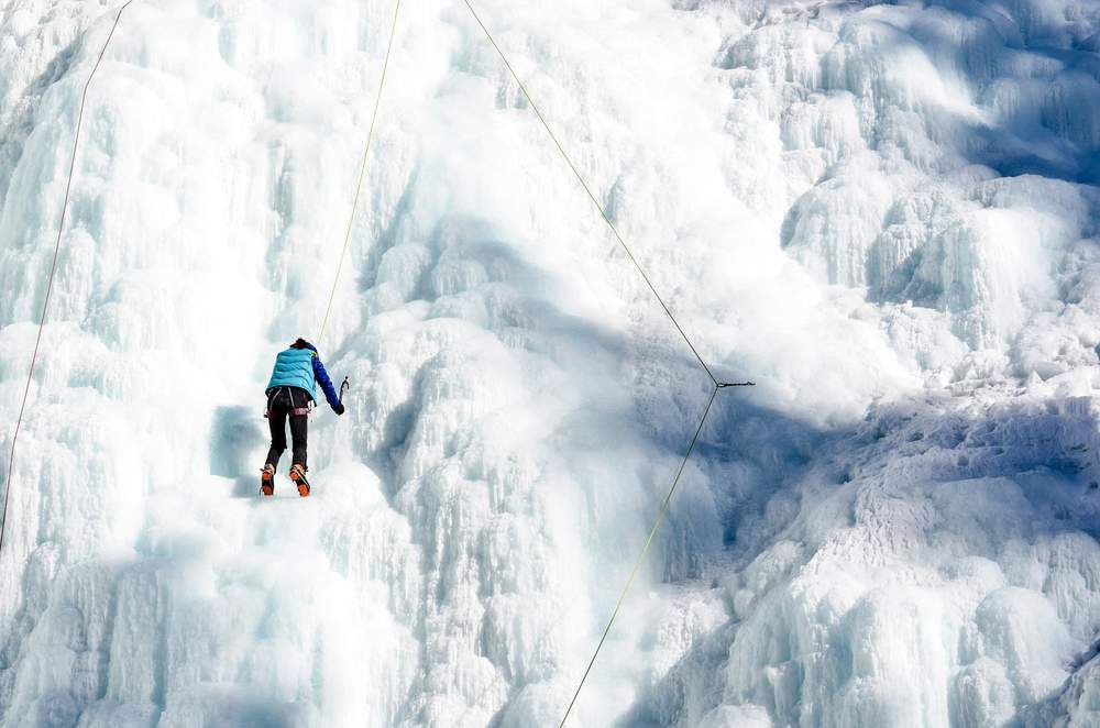 canada ice climbing