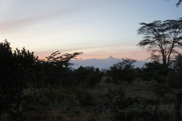 Sunrise uder Mt. Kenya