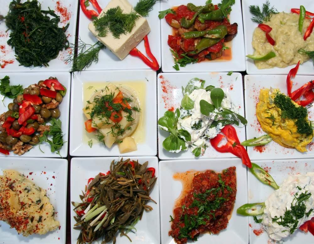 turkish food meze