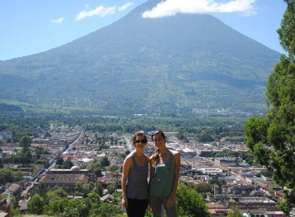 Doing research for our business in Guatemala