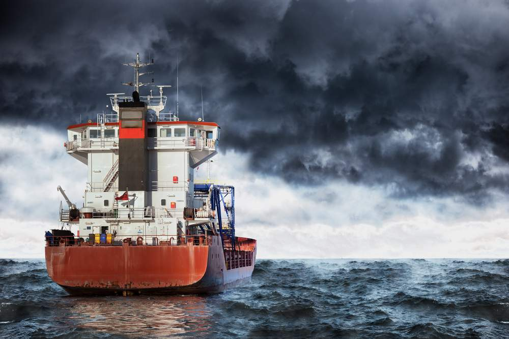 want to live a storm at sea? captain is key