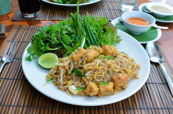 Delicious Lao meal