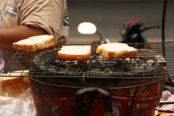 Camp-style toast?