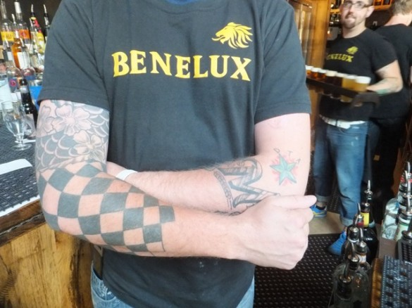 Serving up brews at Benelux