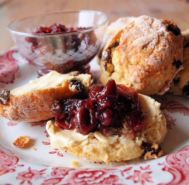 3 Scones for Afternoon Tea