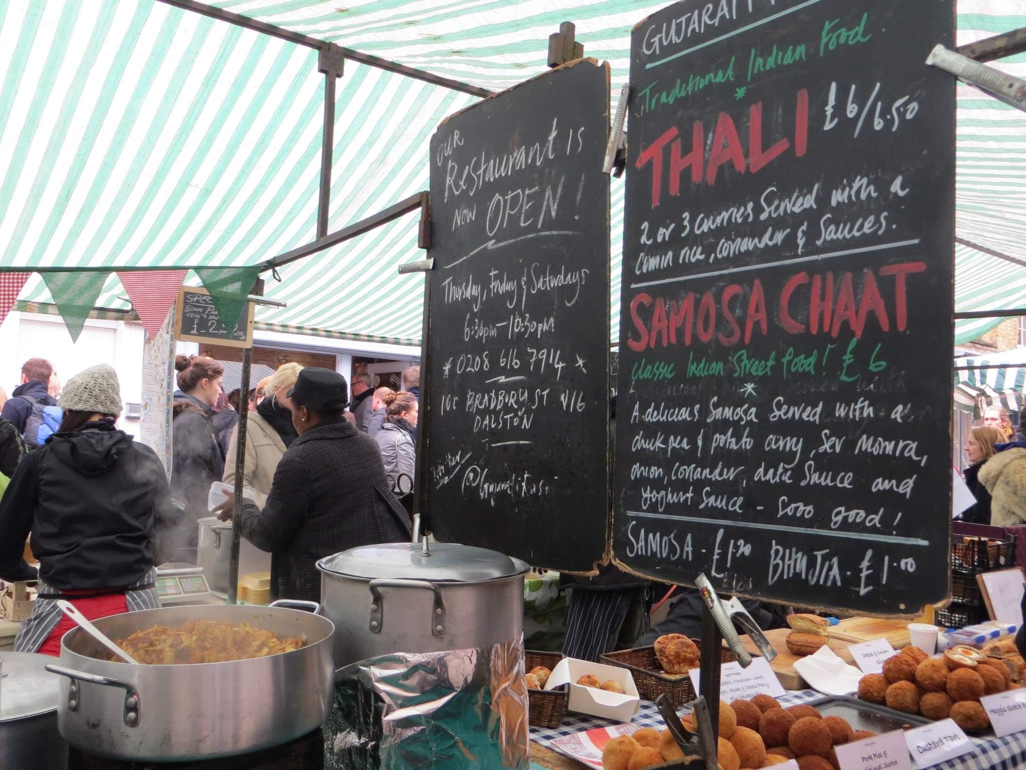 6 Broadway Market Street Food