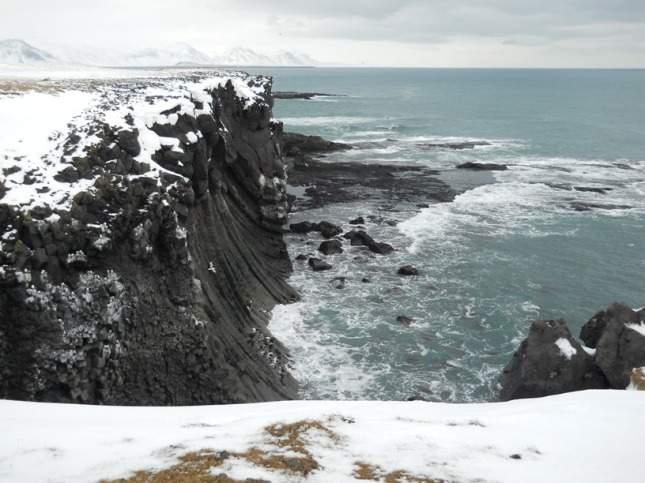 Basalt Cliffs at Arnaastapi - final revision