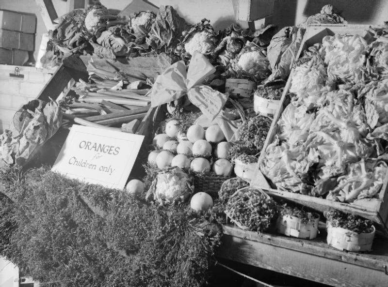 British food during WWII