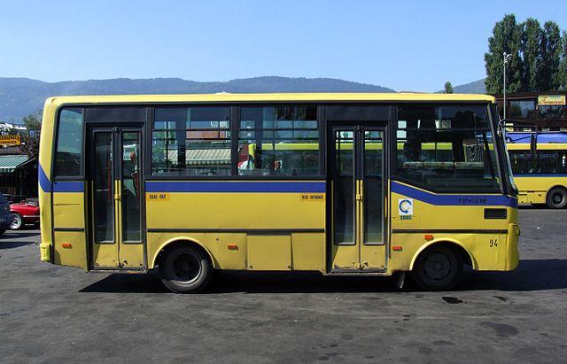 Bus in Bosnia