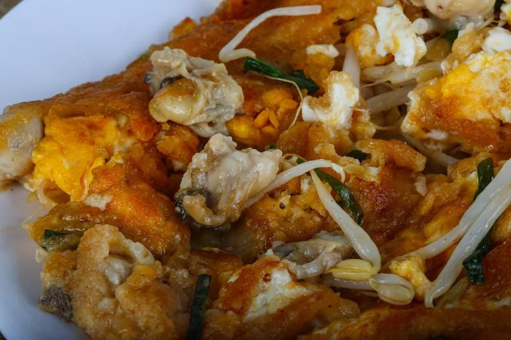 taiwan oyster omlet