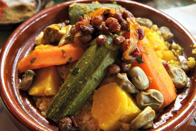 2 - Couscous with vegetables