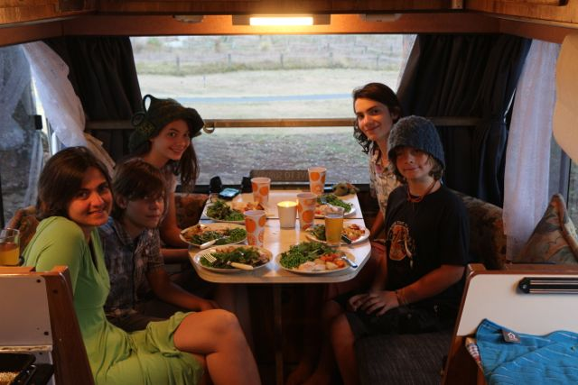 Eating in the RV