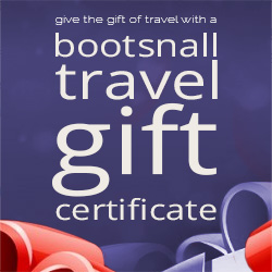 BootsnAll Travel Gift Certificates