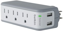 Mini Travel Charger Surge Protector