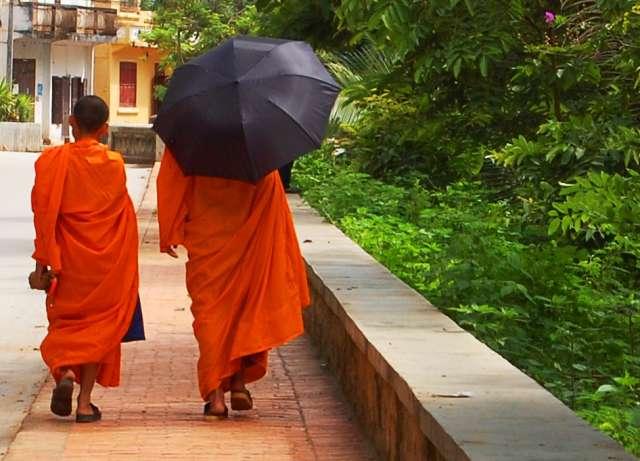 Monks, Laos