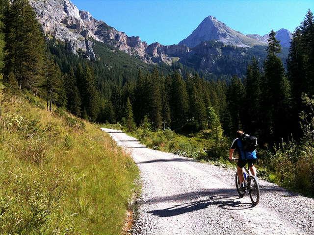 bike riding