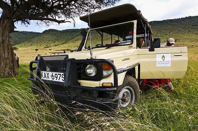 dani blanchette, safari, kenya, africa, jeep