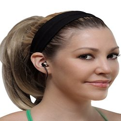 1 Voice Headband with Built-in Bluetooth Earbuds